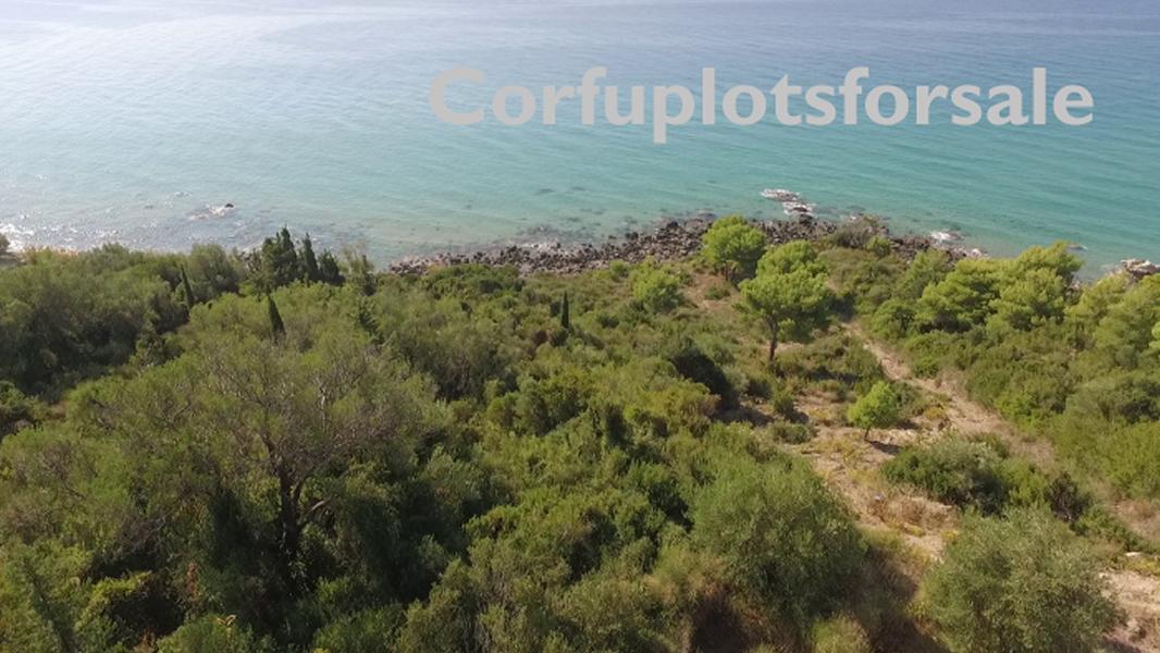 Wonderful plot in Agios Gordios (on the beach)