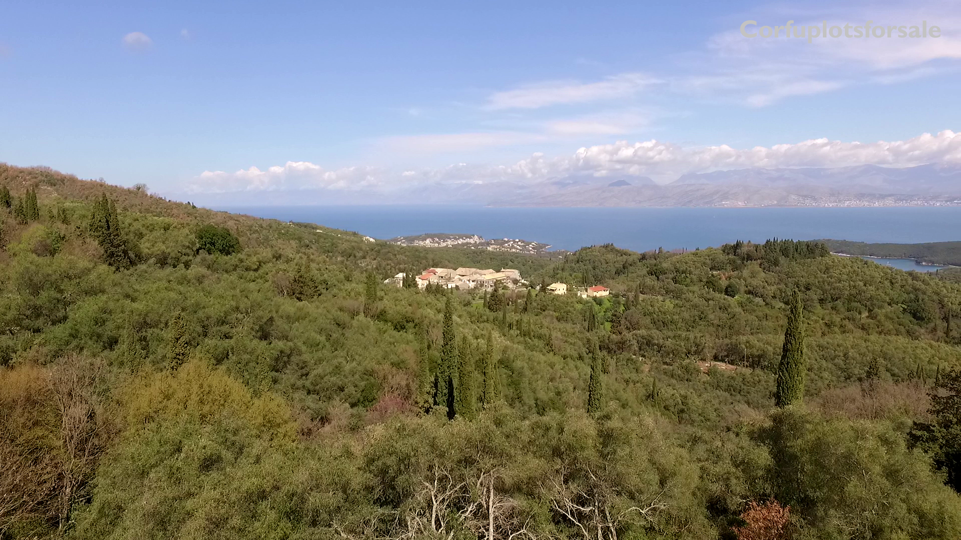 Land for sale in a quite location with view