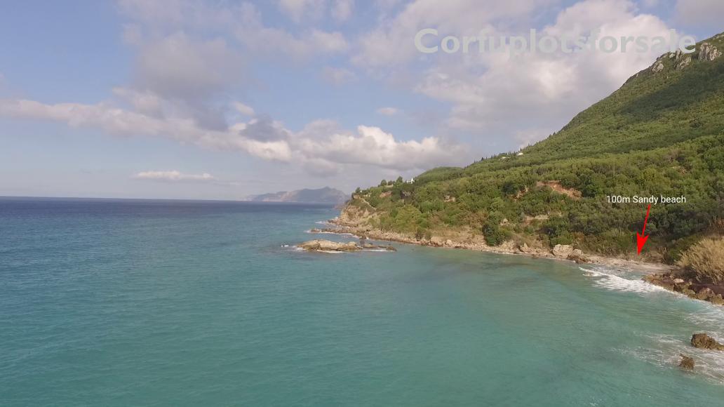 1400 Sq.m. property in Pentati Corfu (100m from the beach)