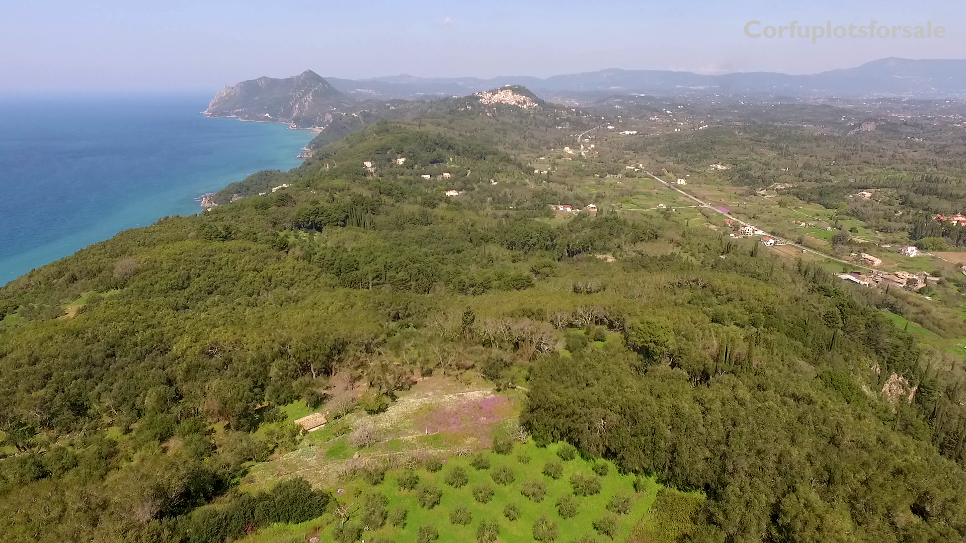 Large piece of land with a private orthodox church