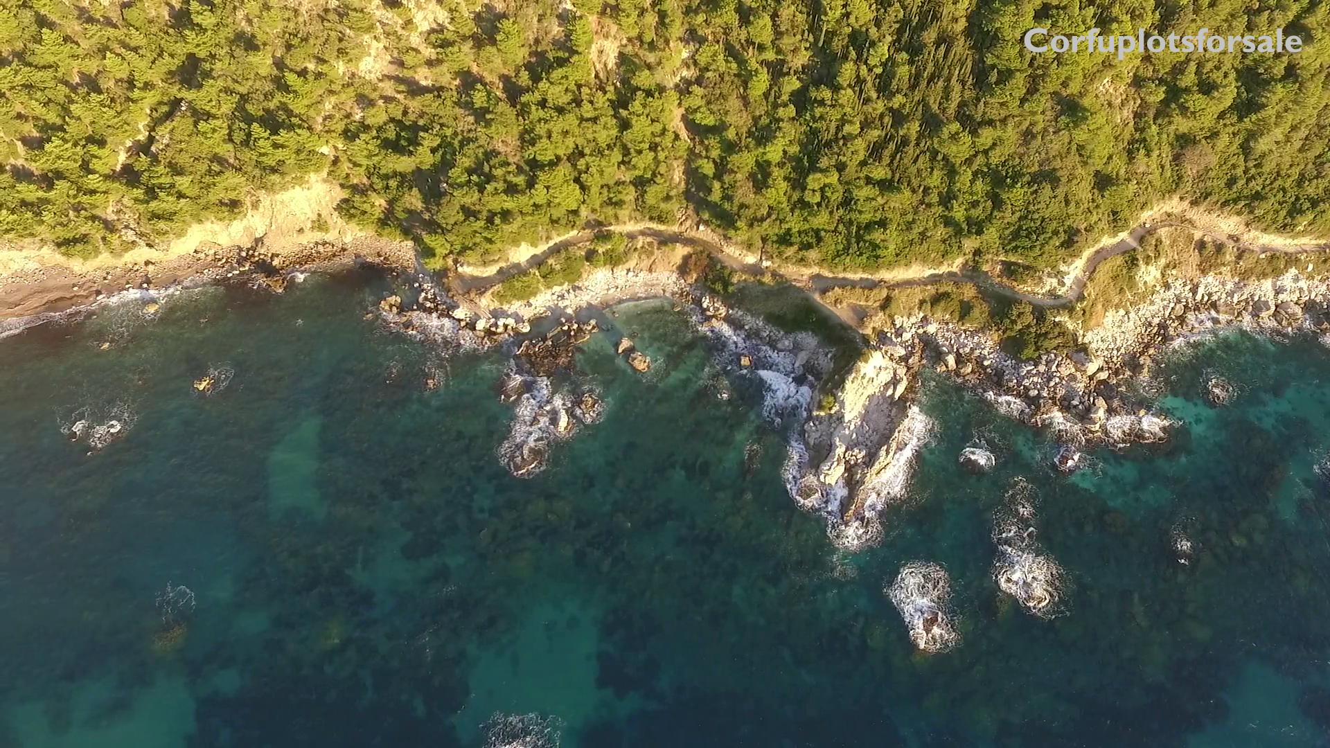 A true paradise hidden in west coast of Corfu – 31000 Sq.M.