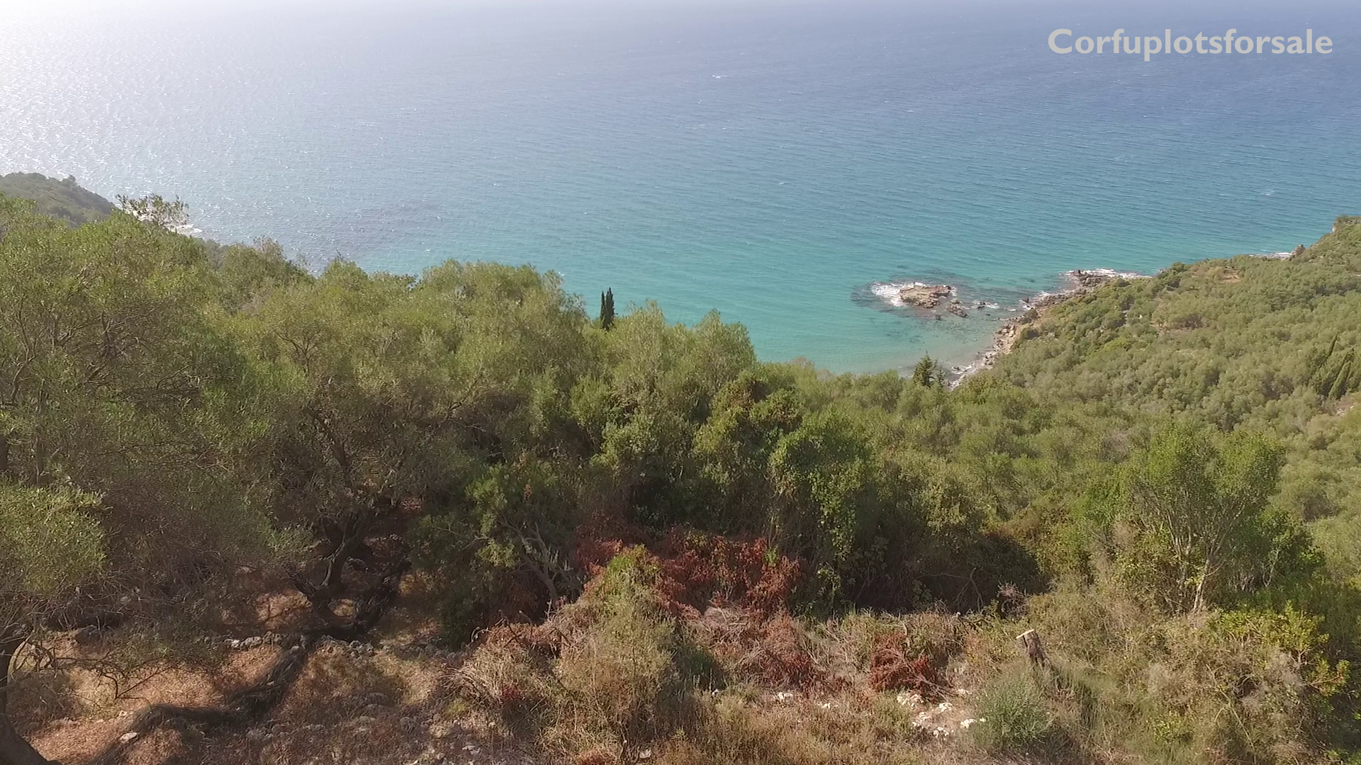 Superb view with absolute privacy in Pentati, Corfu