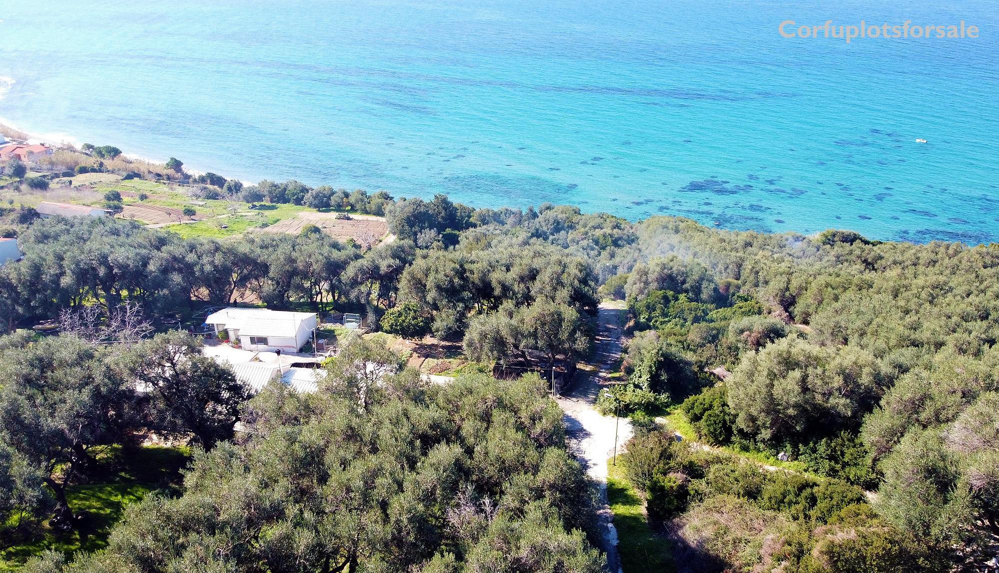 Plot near Skala Paramona bay