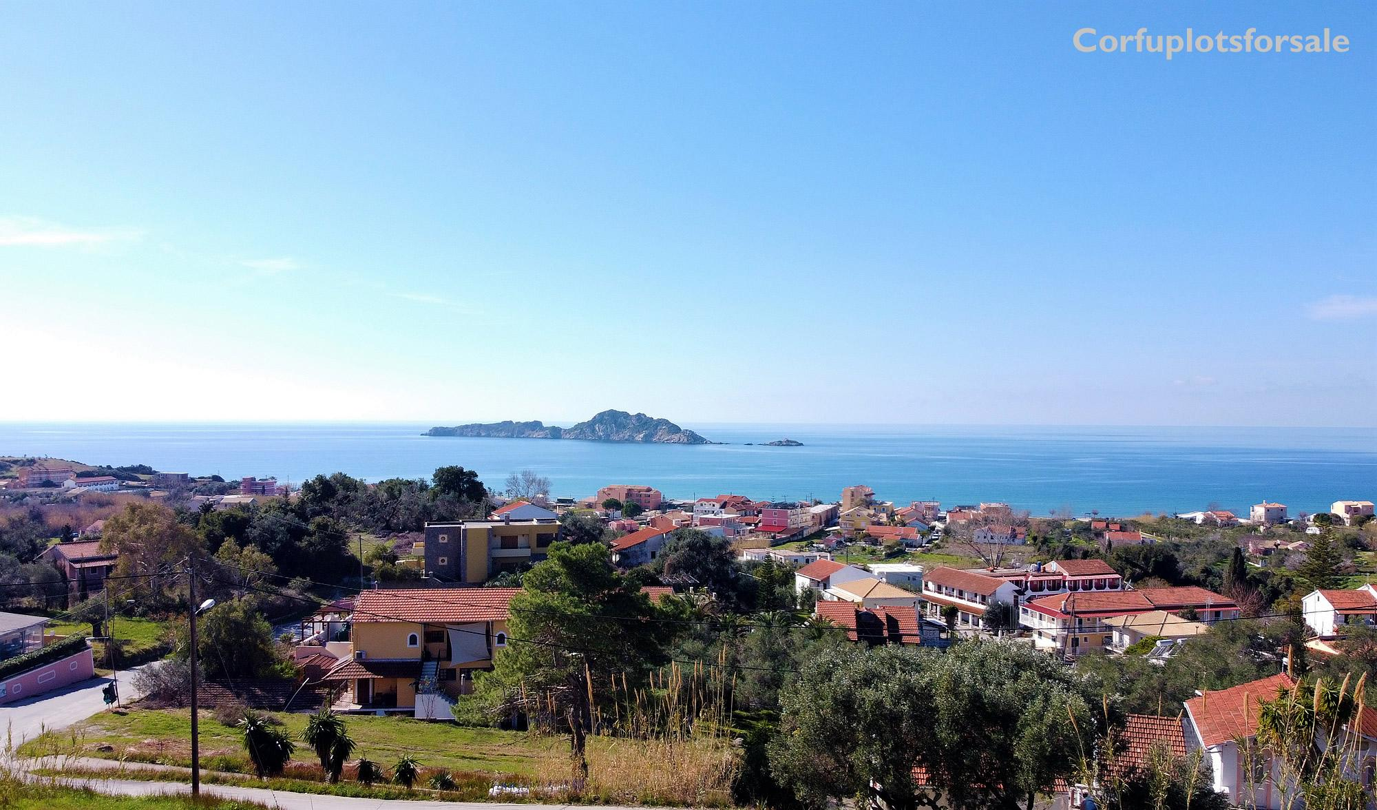 Fantastic view to the area of Arillas