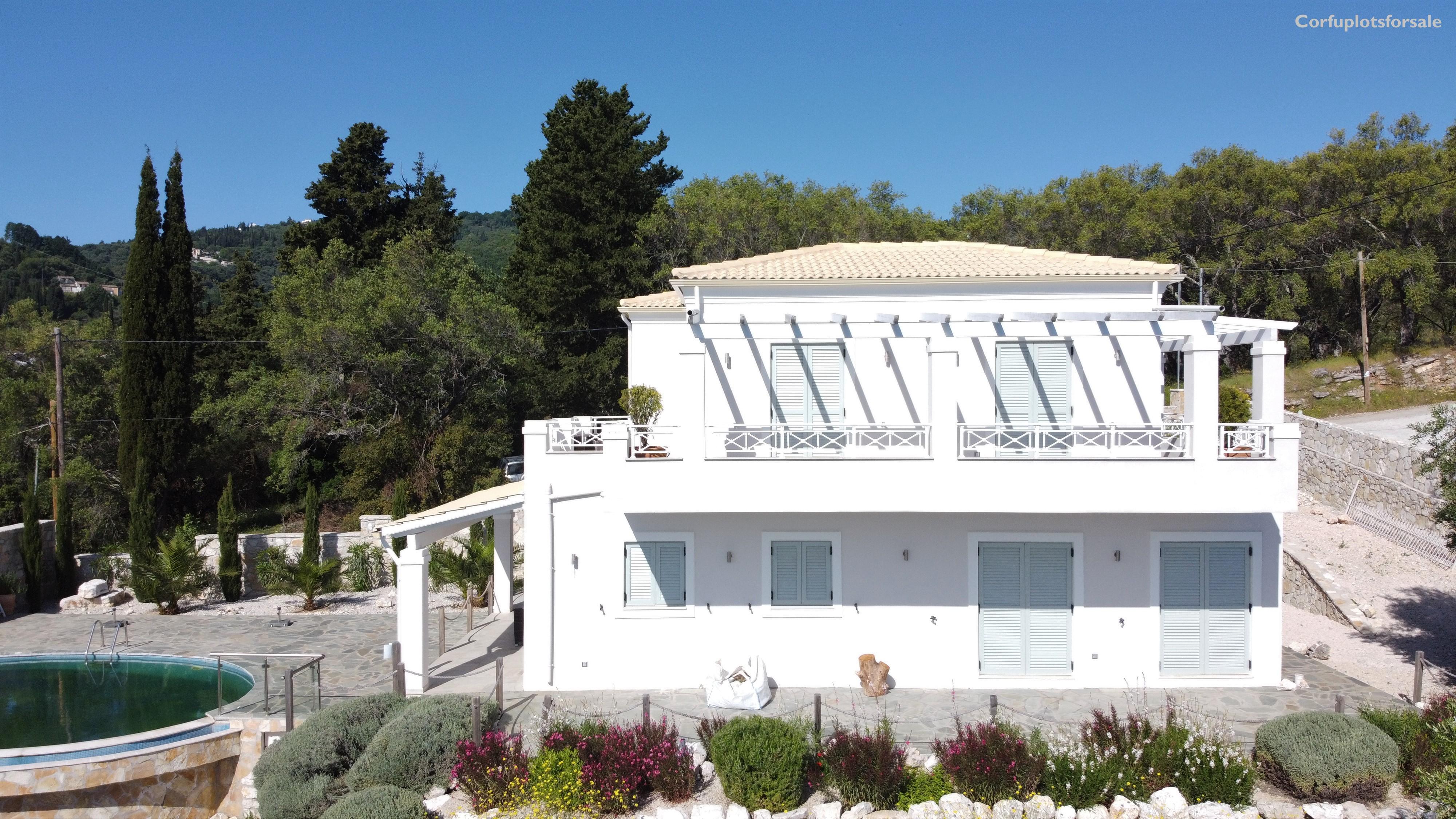 wonderful villa up of Kerasia bay 172 sq.m